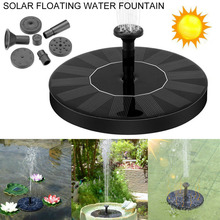 New Solar Water Fountain Outdoor Solar Panel Power Submersible Floating Fountain Garden Pool Pond Water Pump Decoration solar water fountain panel power water fountain pump floating fish tank pond pool watering pump garden irrigation submersible