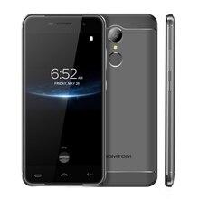 HOMTOM HT37 PRO Mobile Phone 3G RAM 32G ROM Android 7.0 MTK6737 Quad Core 4G LTE Smartphone Fingerprint 1280*720 13MP Cell phone(China)