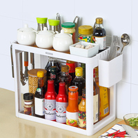 Kitchen Storage Rack Kitchen Storage Tool Hanging Hooks Chopsticks Cutting Board Holder Spice Rack Kitchen Organizing Tool
