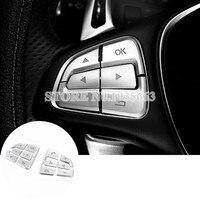 Voor Mercedes Benz Vito Innerlijke Stuurwiel Knop Trim Cover 2014-2017 12 stks