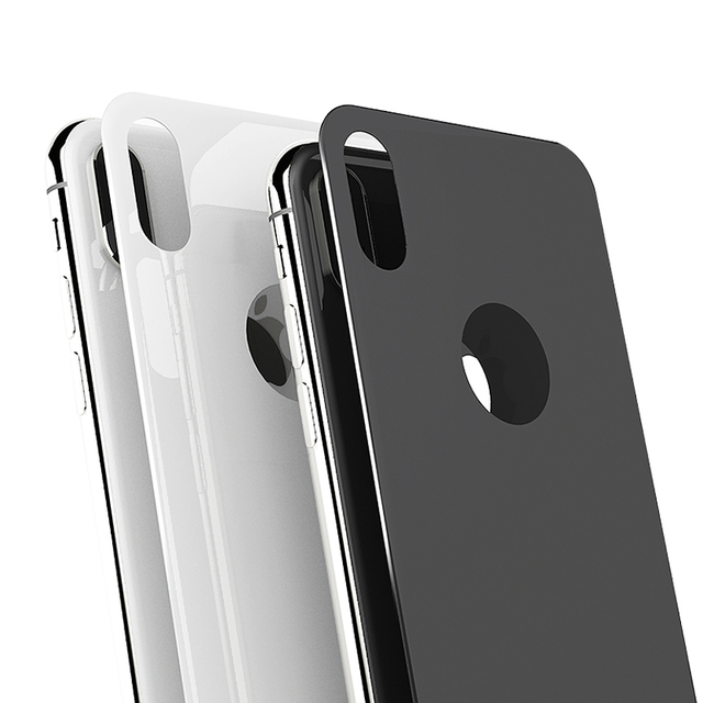 san francisco 0bc06 d3c02 US $2.6 35% OFF|UVR 0.3mm Back Tempered Glass For Apple iPhone X 5D New 3D  Full Cover Tempered Glass Back Screen Protector For iPhoneX Film-in Phone  ...