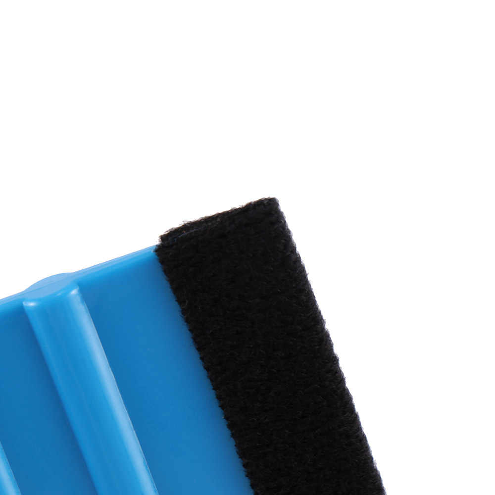 1pc Scraper Blue Plastic Vinyl Soft Felt Glass Windows Car Styling Accessories Car Foil Tool Squeegee Sticker Tool practical