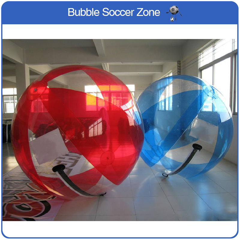 Hight Quality 2m Multicolor TPU Inflatable Human Hamster Ball Water Zorb Ball Giant Inflatable Ball Multicolor Plastic Walking