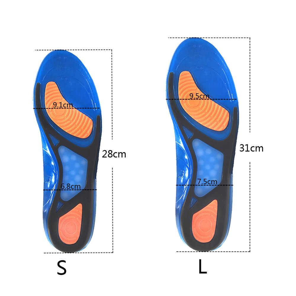 KOTLIKOFF silikon jel spor tabanlık ayak pedi masaj astarı Plantar fasiit topuk Arch destek ortopedik ayakkabı aksesuarları
