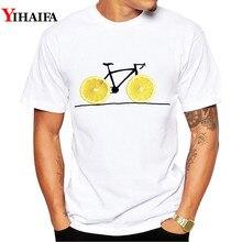 Mens T-shirts Summer Fashion fruit bicycle 3D Print t shirt Funny Men Casual O-Neck Tees Shirt Tops