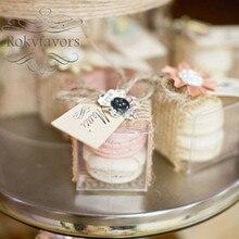 """200 шт Анти Царапины """" x 2"""" x """" против царапин Свадебная вечеринка подарок коробки для конфет ремесло Макарон n коробки для конфет"""