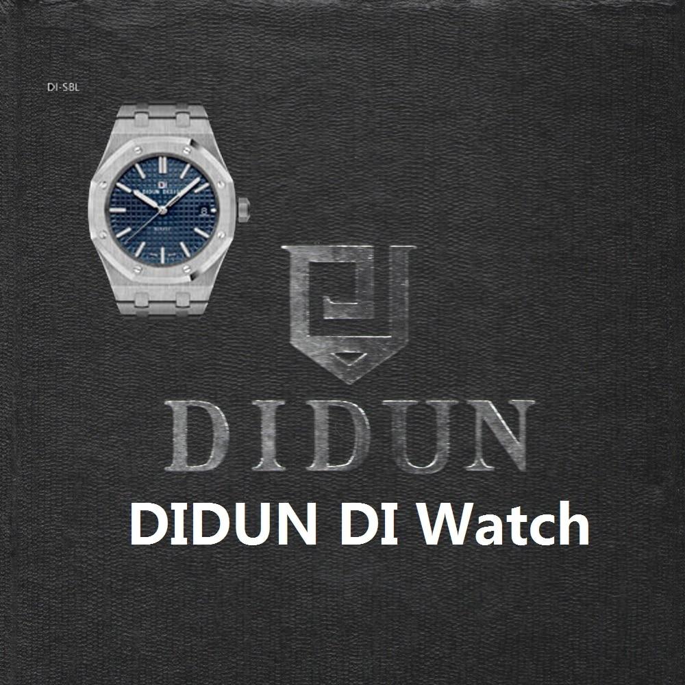 все цены на DIDUN watch Mens Top Brand Luxury Watch Men Military Watch Shockproof 30m Waterproof Business Luminous Quartz Stainless steel онлайн