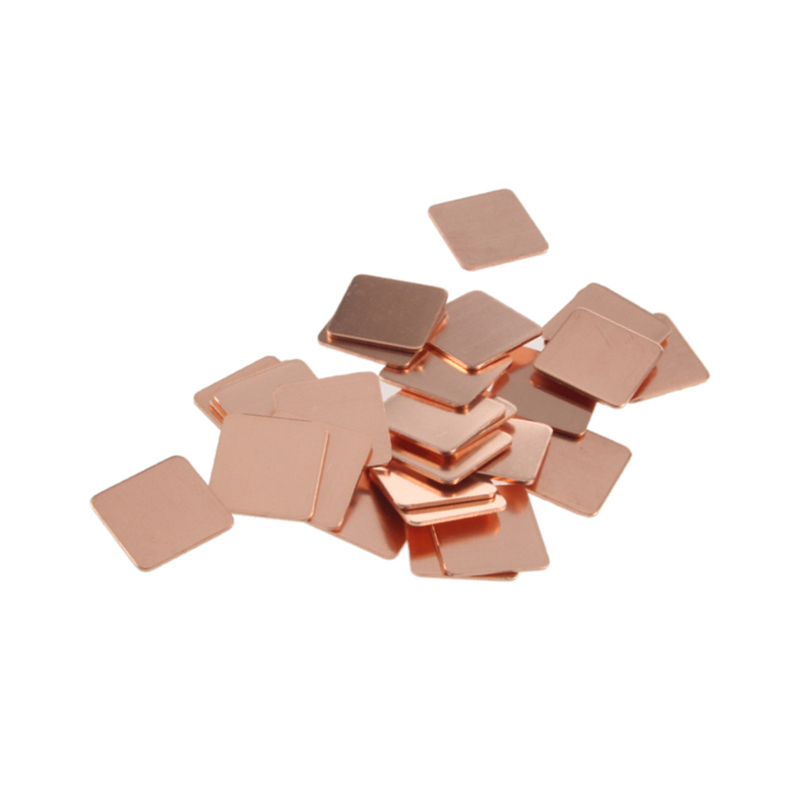 Pack of 10 Mill Finish 3//8 OD 1//4 ID H02//H04 Temper 110 Copper Round Shim Unpolished ASTM B152 0.064 Thickness