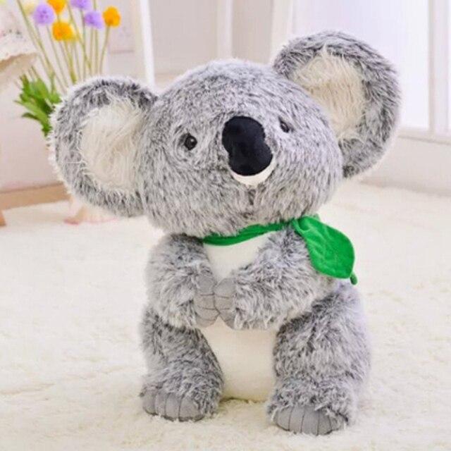 Cute Koala Plush Toys Simulation Doll Soft  Toy Koalas Grey Stuffed Animals Koala Australia's Baby Baby Toy Gifts For Birthday