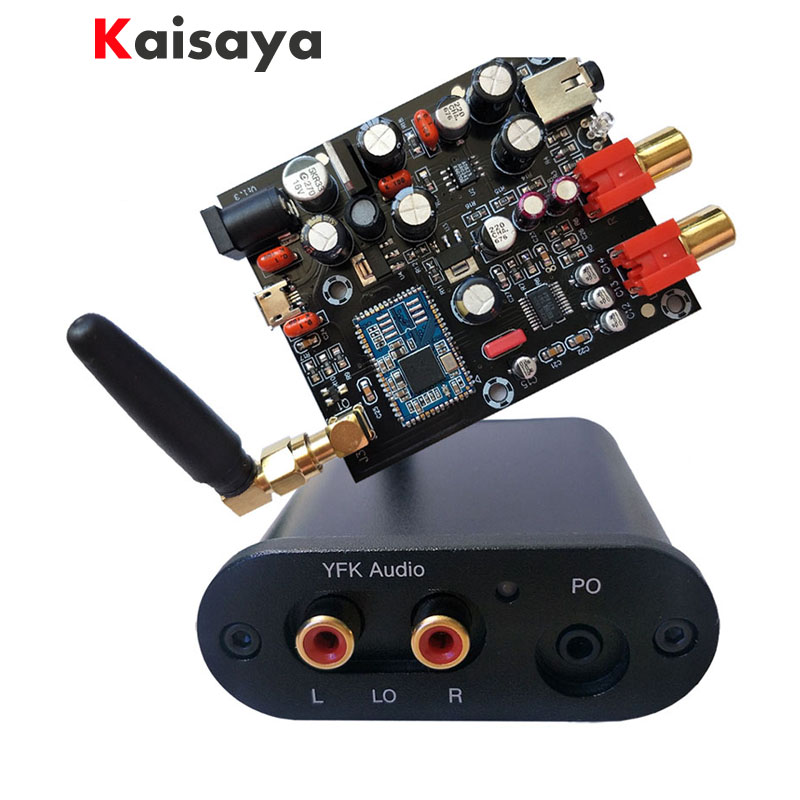 Nuovo CSR8675 Bluetooth 5.0 Ricevitore a Bordo PCM5102A APTX HD I2S 24BIT DAC decoder con Antenna nel caso in cui per hifi amplificatore a6-003Nuovo CSR8675 Bluetooth 5.0 Ricevitore a Bordo PCM5102A APTX HD I2S 24BIT DAC decoder con Antenna nel caso in cui per hifi amplificatore a6-003