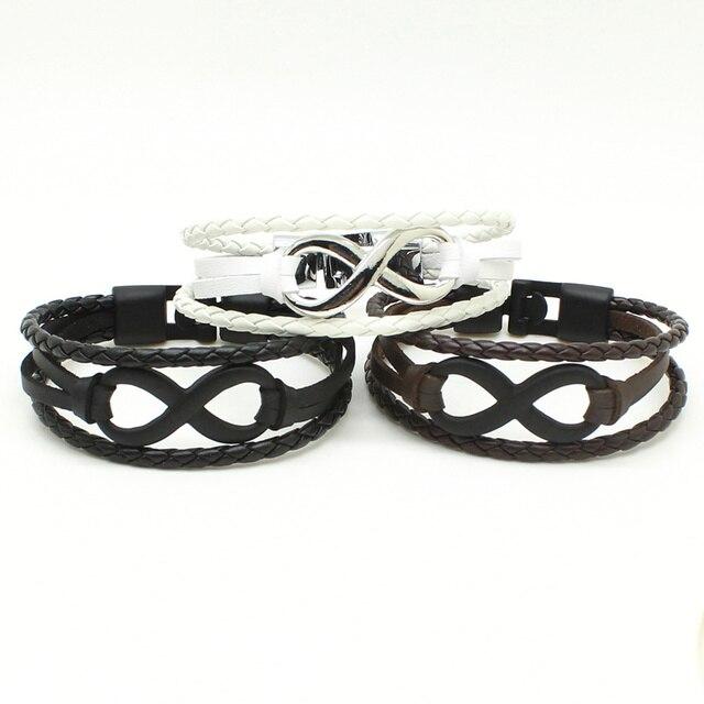 Variety of Multilayer Leather Bracelets