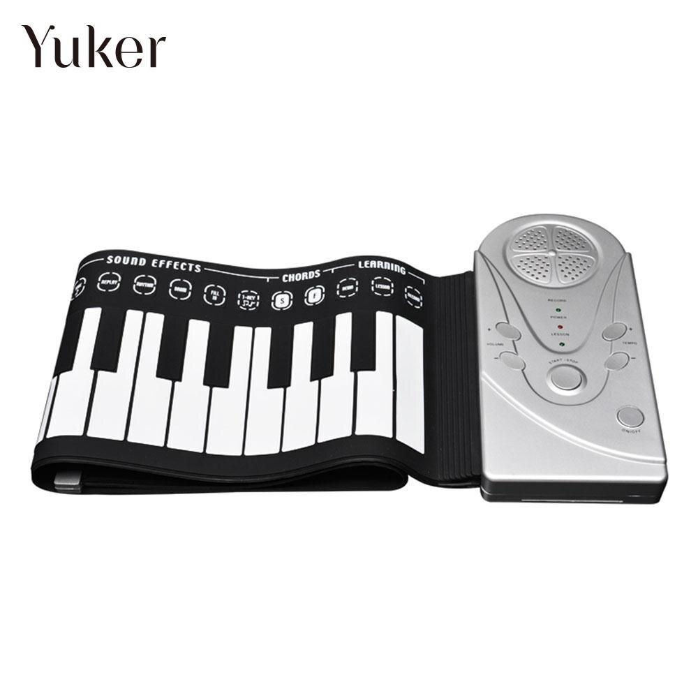 49K1 silicone 49 touche musique orgue électronique clavier électronique Piano Flexible USB charge retrousser Piano cadeau divertissement