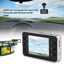 New K6000 2.7 inch Full HD 1080P Auto Tachograph Car Camera DVR Camcorder Video Recorder Ultra Wide Angle Night Vision Function