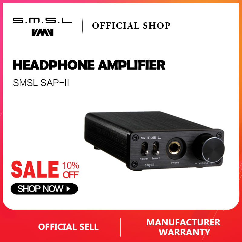 Enthusiastic Smsl Sap Ii Portable Headphone Amplifier Tpa6120a2 Big Power Hifi Fidelity Stereo Headphone Amplifier With 2 Ways Switch Inputs Back To Search Resultsconsumer Electronics Headphone Amplifier