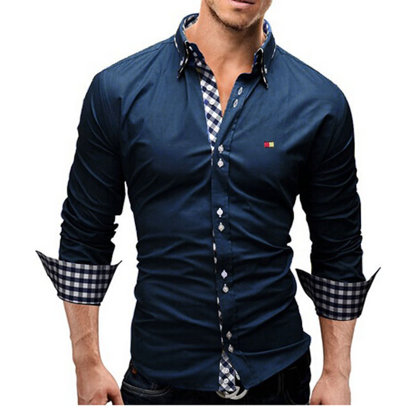 Popular Mens Long Sleeve Dress Shirts-Buy Cheap Mens Long Sleeve ...
