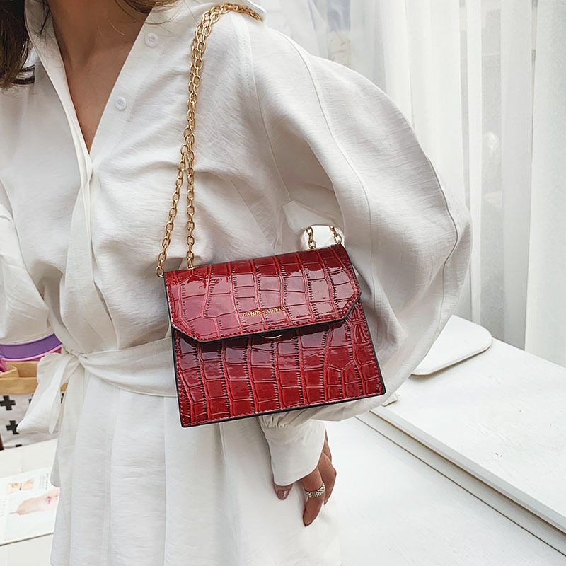 Female Crocodile Pattern Crossbody Bags For Women 2019 High Quality Luxury Handbags Designer Sac A Ladies Shoulder Messenger Bag