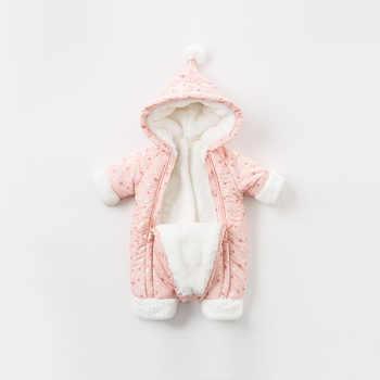 DBM8999 dave bella winter newborn unisex fashion stars print romper infant onesies children lovely romper baby jumpsuit