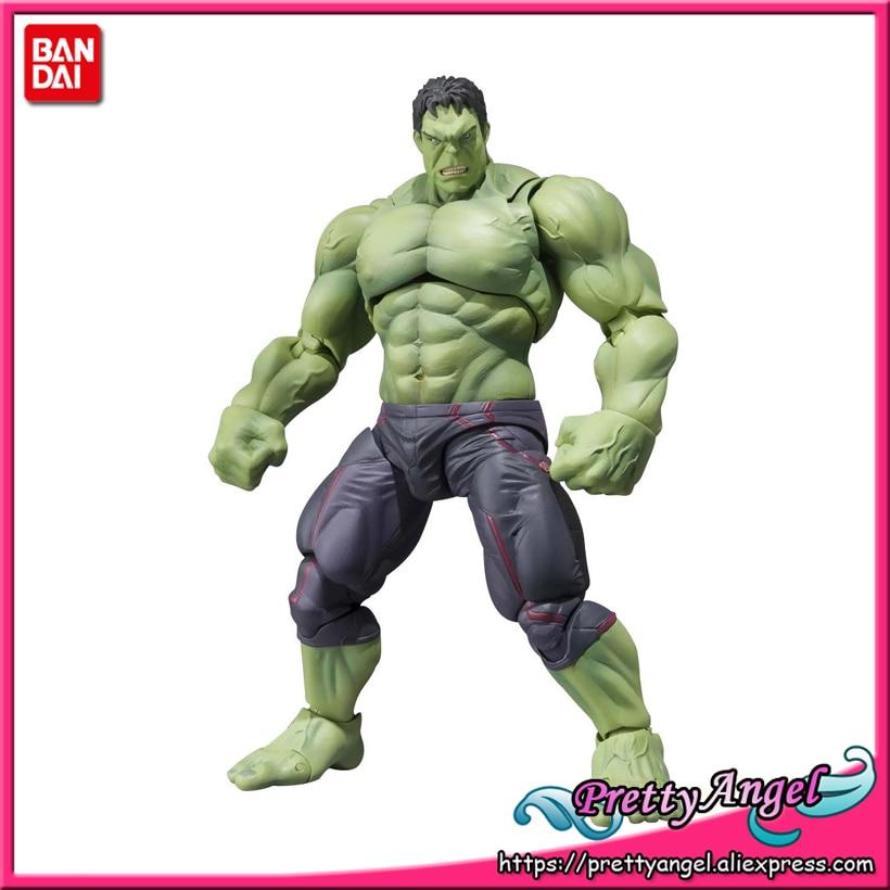 PrettyAngel - Genuine Bandai Tamashii Nations S.H.Figuarts Marvel Avengers Age of Ultron Hulk Action Figure prettyangel genuine bandai tamashii nations s h figuarts exclusive injustice superman injustice ver action figure