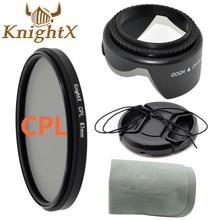 KnightX камеры фильтр FLD УФ CPL MCUV Звезда Комплект для canon eos 700d 100d t5i t2i nikon d700 d7200 650 sony nex 52 58 62 мм фильтр