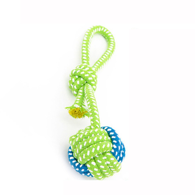 Cotton Rope Knot Ball Grinding Teeth 1