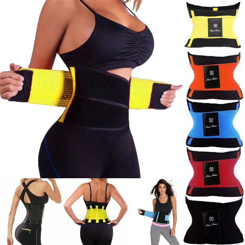 Fashion Waist Trainer Cincher Control Underbust Sweat Sauna Shaper Shapewear Body Tummy Commerbunds