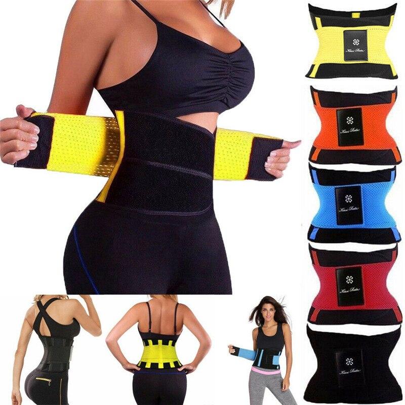 Fashion Waist Trainer Cincher Control Underbust Sweat Sauna Shaper Shapewear Body Tummy Commerbunds