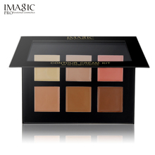 IMAGIC Concealer Cream Palette Contour Kit 6 Colors Makeup P