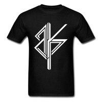 Art Design BKP Logo Print Men Black White T Shirt Team Tee Shirt Custom Store Quality