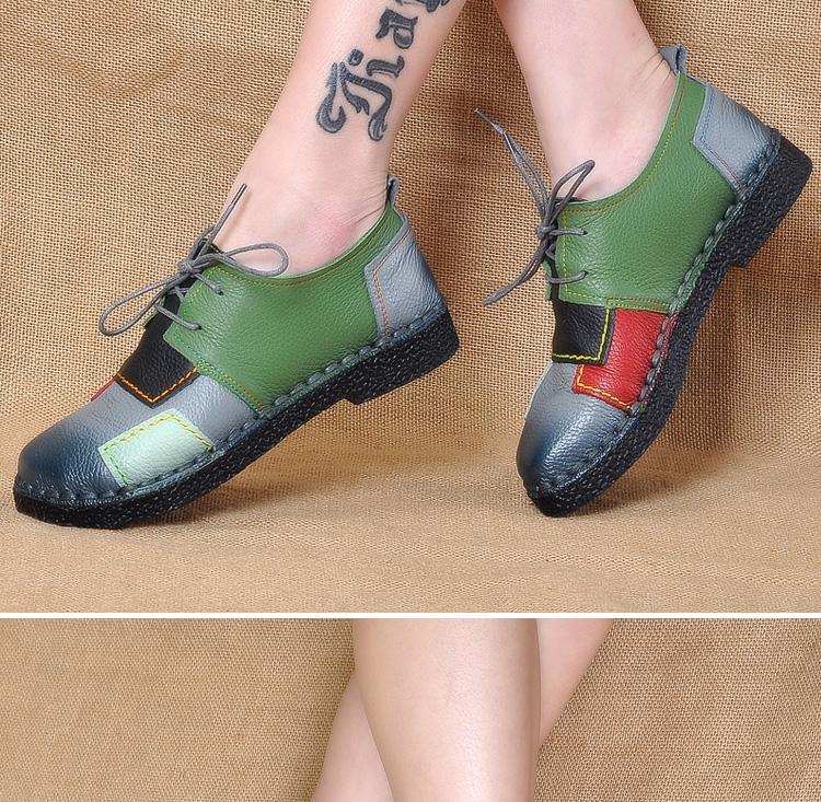 HTB1yNIYRpXXXXaVXpXXq6xXFXXXc - Women's Handmade Genuine Leather Flat Lace Shoes-Women's Handmade Genuine Leather Flat Lace Shoes