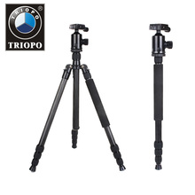 TRIOPO Professional Carbon Fiber Tripod & Monopod For DSLR Camera / Portable Traveling Tripod Max load to 12kg