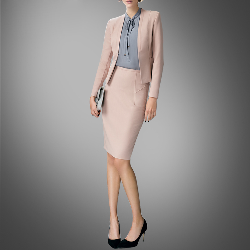 New Spring Fashion Slim Suit European High-end Casual Coat Short