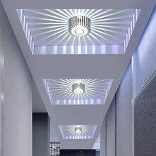 New Modern Aisle Lamp LED Ceiling Light Corridor Porch Lighting