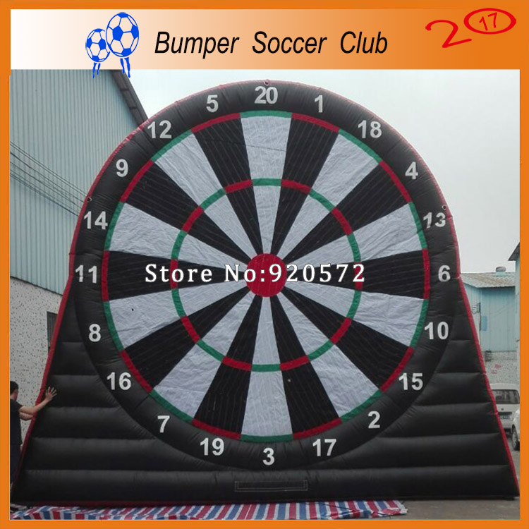 Free shipping &pump ! 3m/4m/5m/6m/7m Giant Inflatable Dart Board with Darts,Inflatable Dartboard Target,inflatable body board