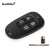 kebidu Copy Remote Control 433MHz Cloning Duplicator Wireless 4 Keys Waterproof Handle Garage Gate Electric Door Key