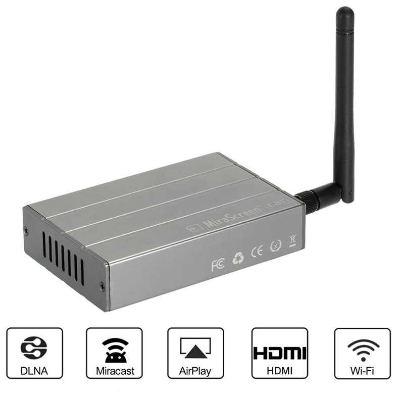 MiraScreen voiture HDMI TV Stick Wifi anycast Miracast DLNA Airplay CVBS voiture Multimédia Dongle D'affichage Miroir Boîte pour ISO Android c1
