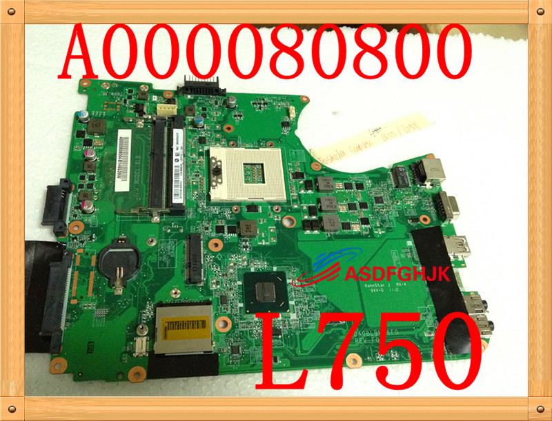 Original FOR Toshiba Satellite L655D L650D Laptop Motherboard A000076380 DA0BL7MB6D0 fully tested nokotion a000076380 laptop motherboard for toshiba satellite l655d l650d socket s1 ddr3 da0bl7mb6d0