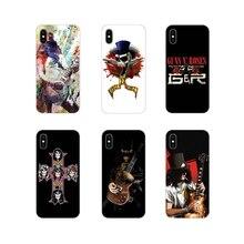 For Oneplus 3T 5T 6T Nokia 2 3 5 6 8 9 230 3310 2.1 3.1 5.1 7 Plus 2017 2018 Soft Transparent Case Cover deviantart guns n roses