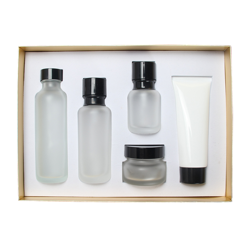 Beauty Salon Cosmetics Exquisite Box,Inner Plug / Emulsion / Cream Glass Bottle