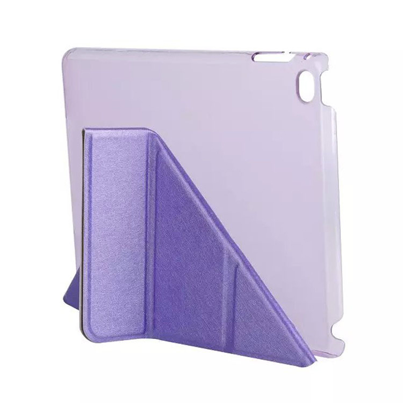 For Apple ipad mini 4 case flip stand leather multifunctional folding protective tablet cover + Plastic case coque funda capa multifunctional luxury flip stand case