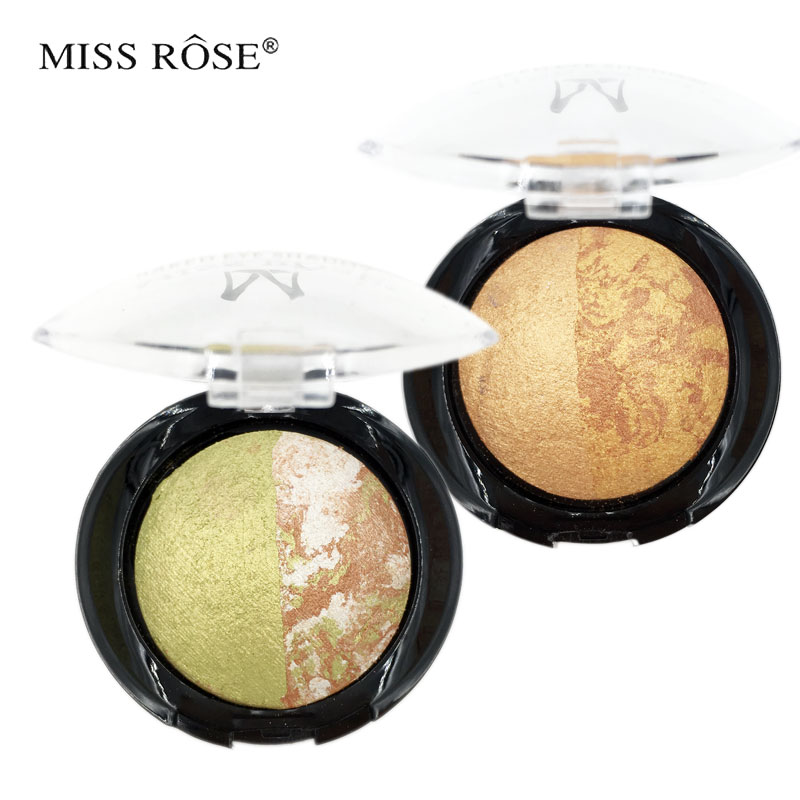 Miss rose brand eye shadow palette glitter eyeshadow mixcolor baking bubbles professional makeup