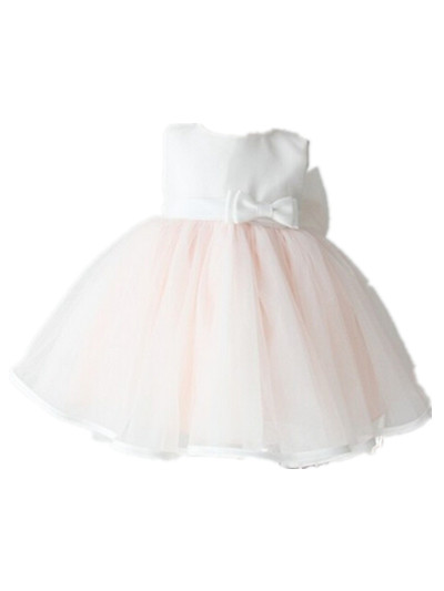 BABY WOW Baby Girl Christmas 1 Year Birthday Dress Baptism Party Wedding Infant Princess Sleeveless Evening