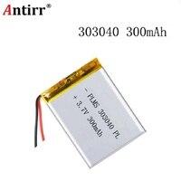 303040 3.7v lipo rc batteria 300mah per rc li polimero piccolo elicottero GPS MP3 MP4 strumenti-in Batterie digitali da Elettronica di consumo su