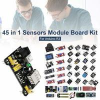 45 in 1 센서 모듈 arduino 용 스타터 키트  37in1 센서 키트보다 우수 37 in 1 센서 키트