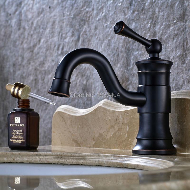 Waterhill  One-Handle High Arc Black Bathroom Sink Vessel Faucet,Brushed Oil Rubbed Bronze B3269