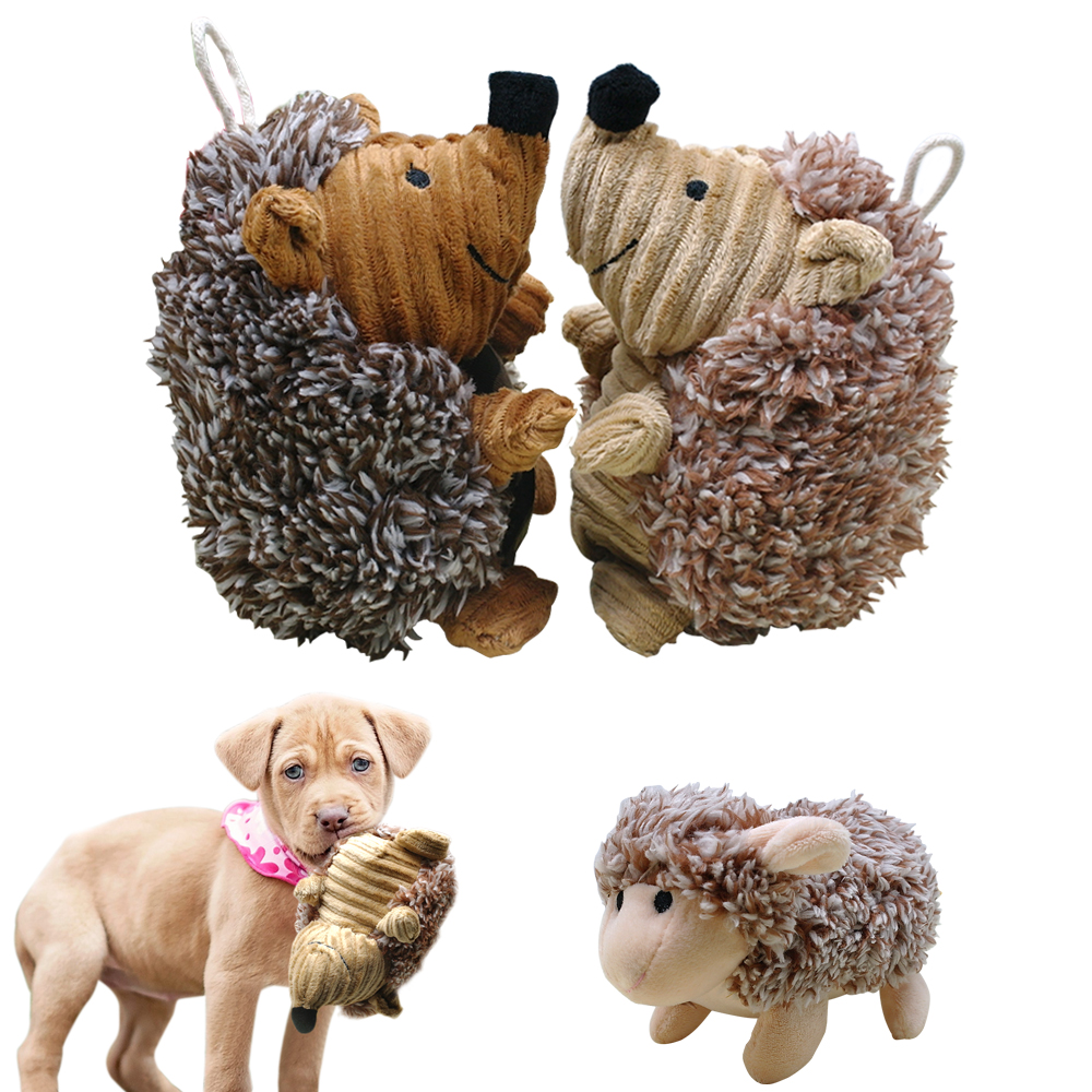 Plush Squeak Toy Dogs