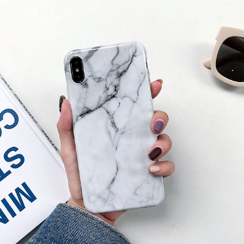 Marble-Case-on-For-Coque-iphone-7-XS-MAX-Case-Soft-TPU-Back-Cover-For-iphone (1)