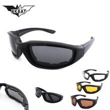 Cool Military Goggles Bullet-proof Army C6 Polarized Sunglas