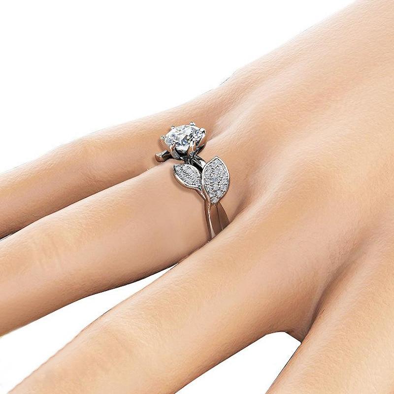 Dazzling Flower Ring
