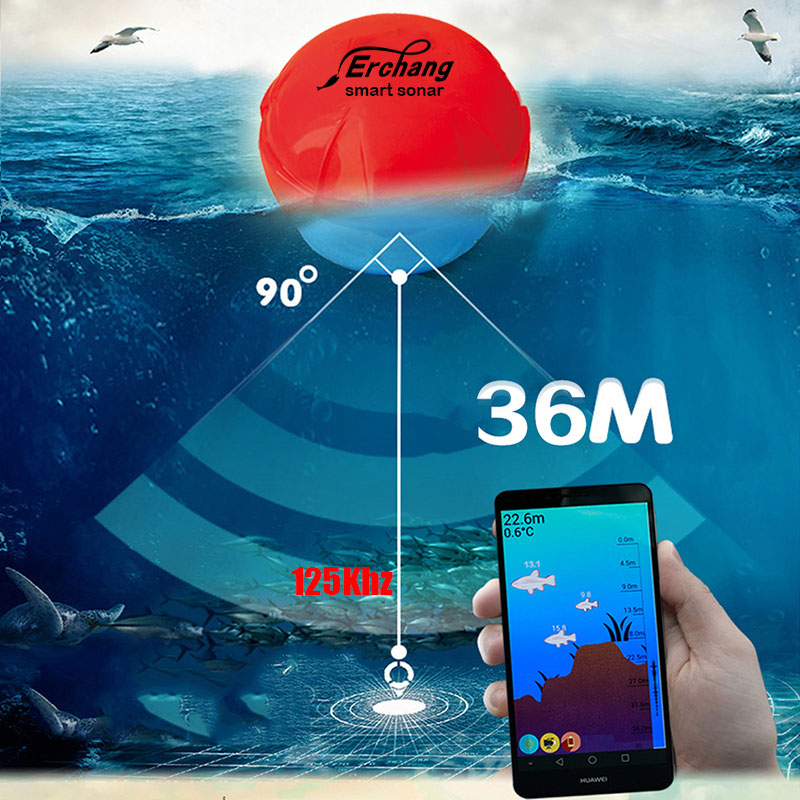 Erchang F3W Hot Sale Alarm 100M Portable Sonar LCD Fish Finders Fishing lure Echo Sounder Fishing Finders Free Shipping! fishing finder display 2018 marine gps alarm 100m portable sonar lcd high definition fish finders fishing lure echo sounder