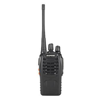 цена на SOONHUA BF-888S 5W Walkie Talkie 400-470MHz Handheld Walkie Talkies Interphone With 2800mAh Battery And Earphone Black